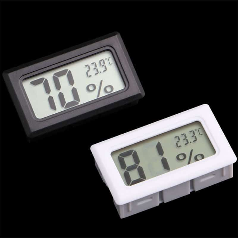 DIGITAL THERMOMETER / HYDROMETER – TEMPERATURE/HUMIDITY GAUGE
