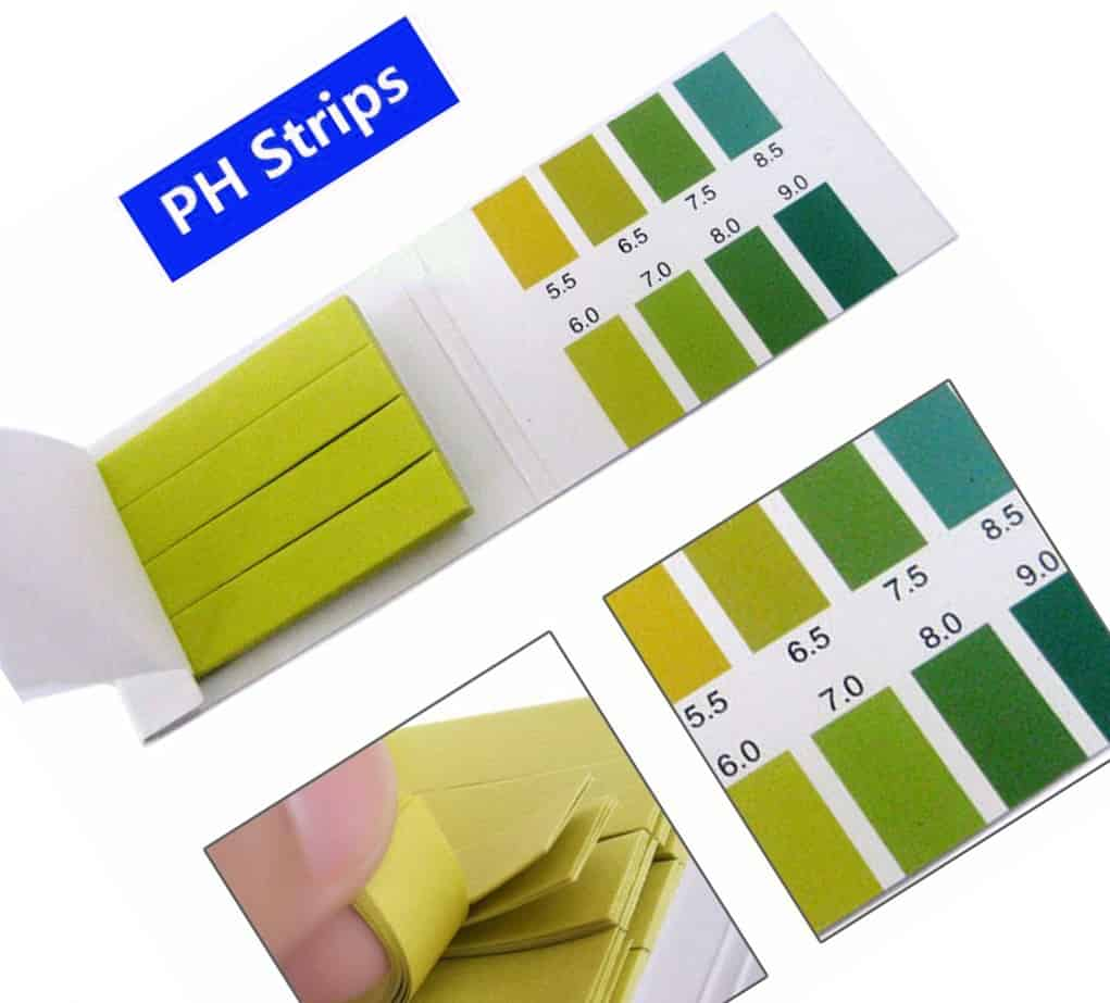 PH TEST STRIPS – ENSURE YOUR WATER PH IS CORRECT!